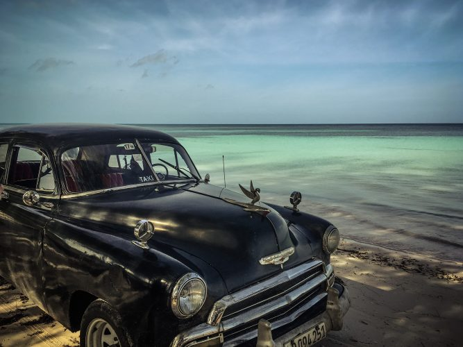 Cuba - safe parking spot